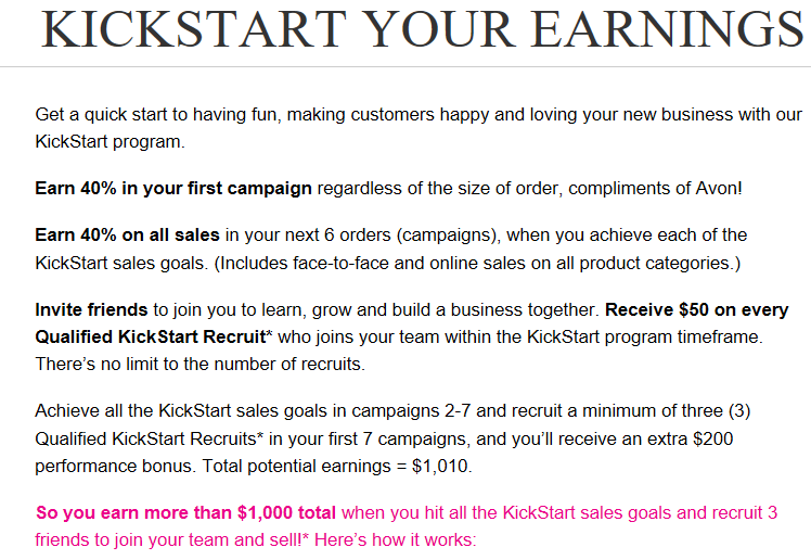 kickstart your earnings